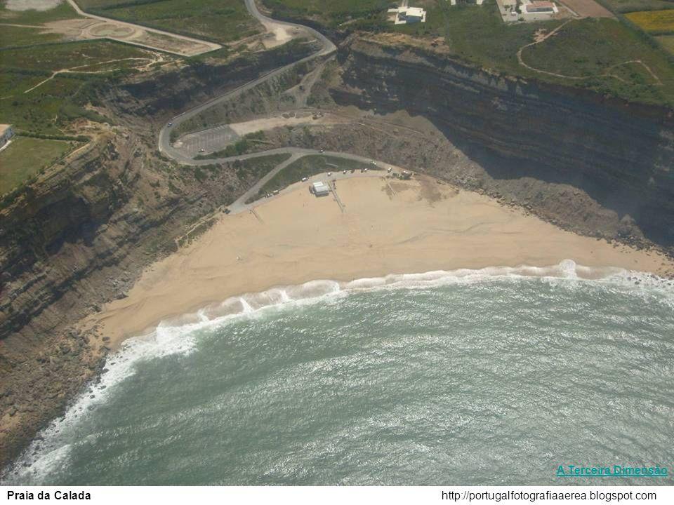 A Terceira Dimensão Praia da Calada http://portugalfotografiaaerea.blogspot.com