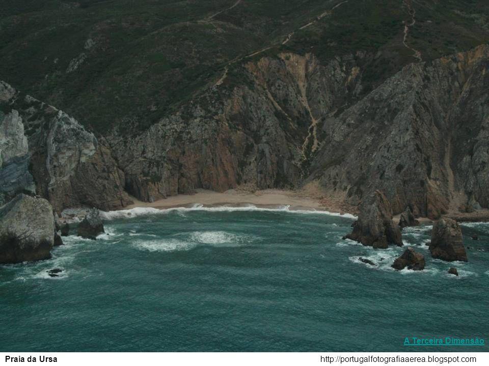 A Terceira Dimensão Praia da Ursa http://portugalfotografiaaerea.blogspot.com