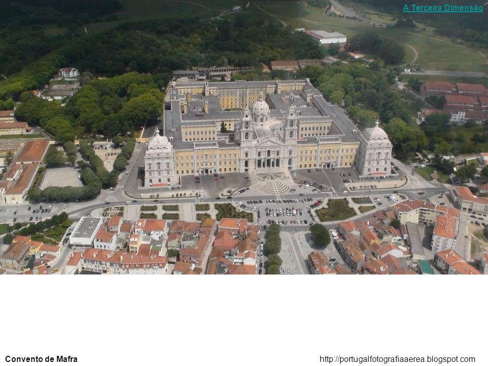 A Terceira Dimensão Convento de Mafra http://portugalfotografiaaerea.blogspot.com