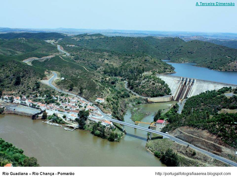 A Terceira Dimensão Rio Guadiana – Rio Chança - Pomarão http://portugalfotografiaaerea.blogspot.com