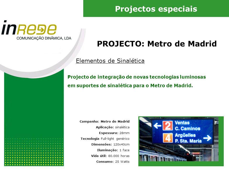 PROJECTO: Metro de Madrid