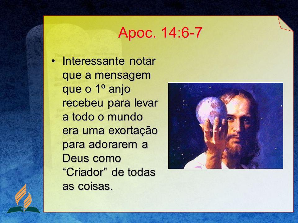 Apoc. 14:6-7