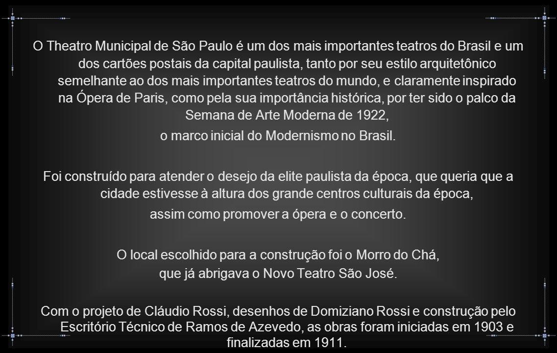 o marco inicial do Modernismo no Brasil.