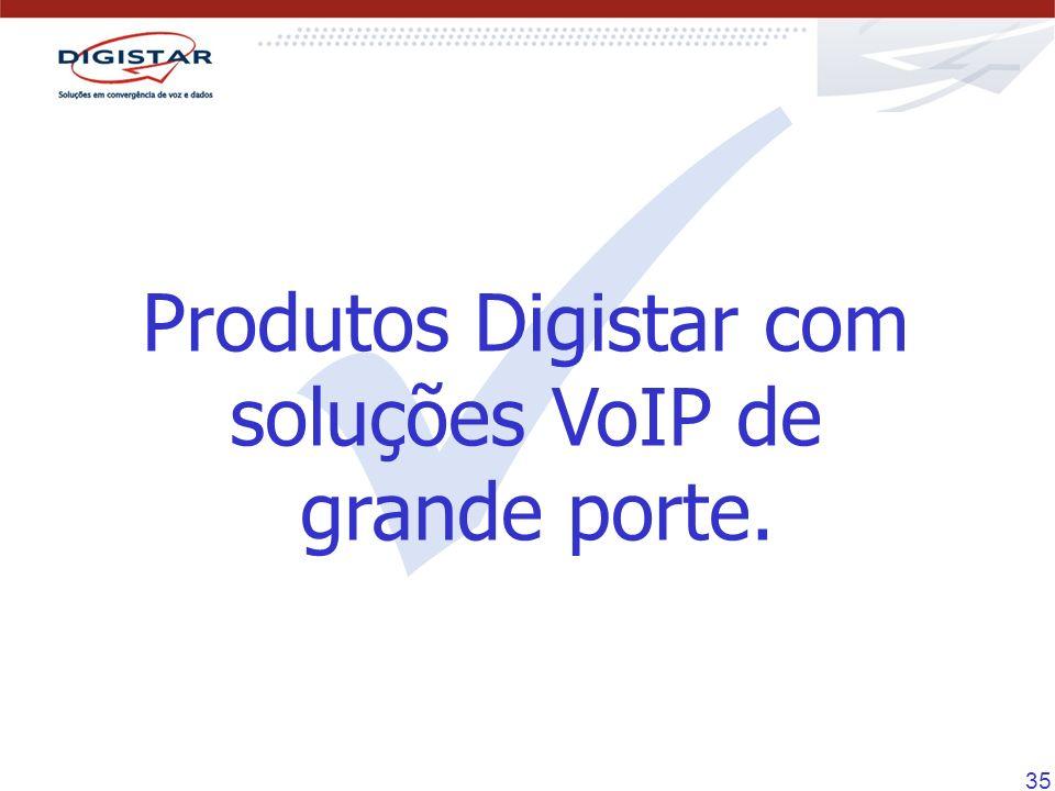 Produtos Digistar com soluções VoIP de