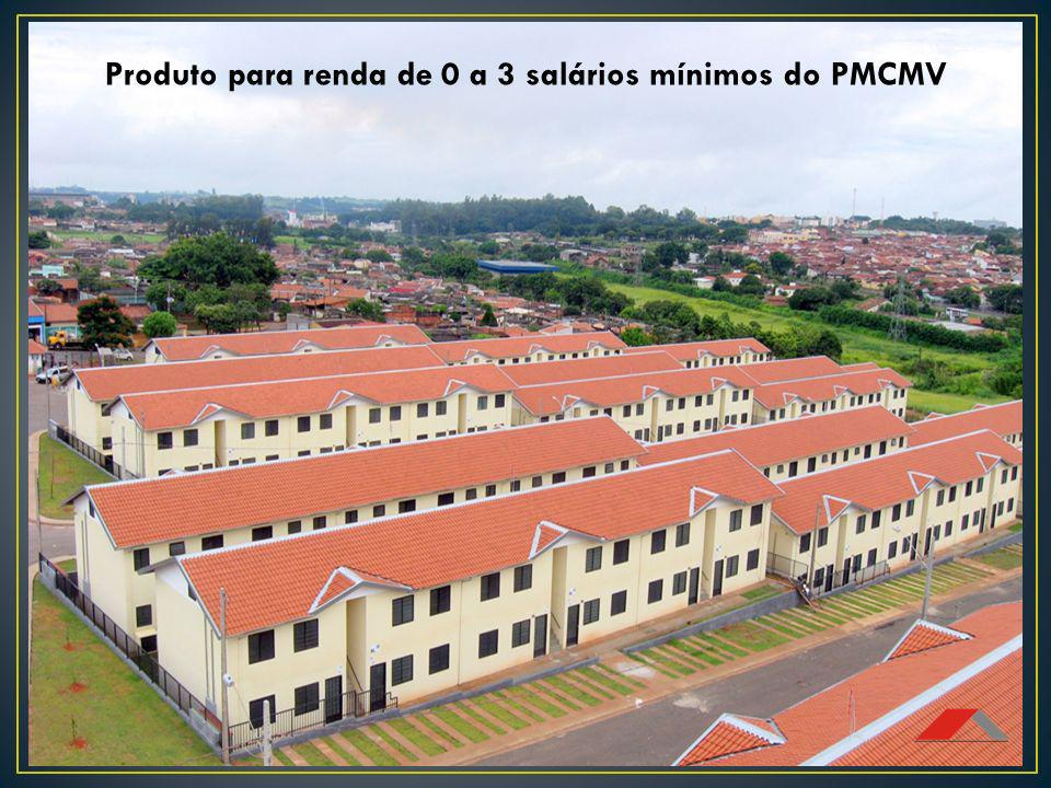 Produto para renda de 0 a 3 salários mínimos do PMCMV