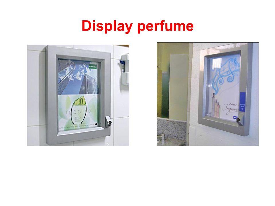 Display perfume