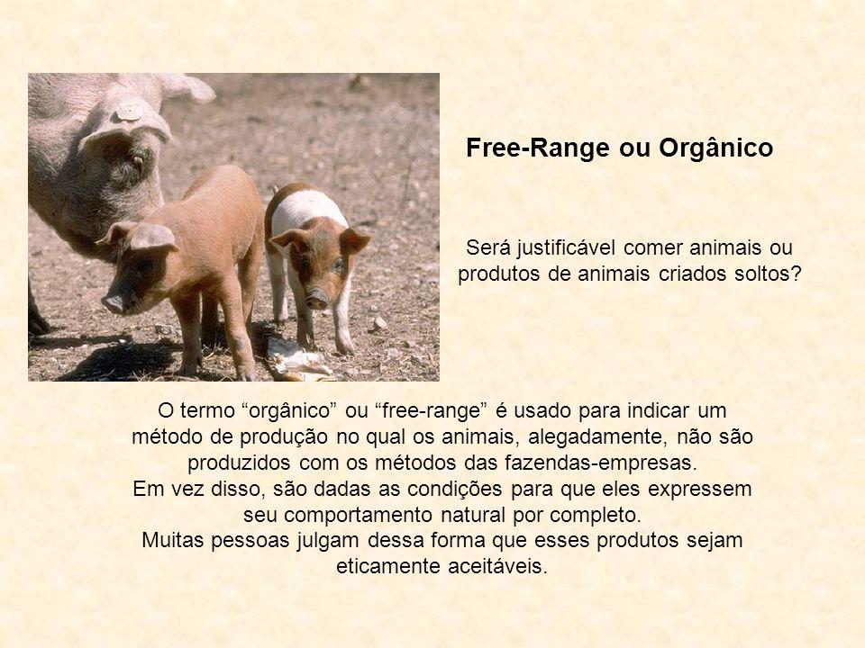 Free-Range ou Orgânico