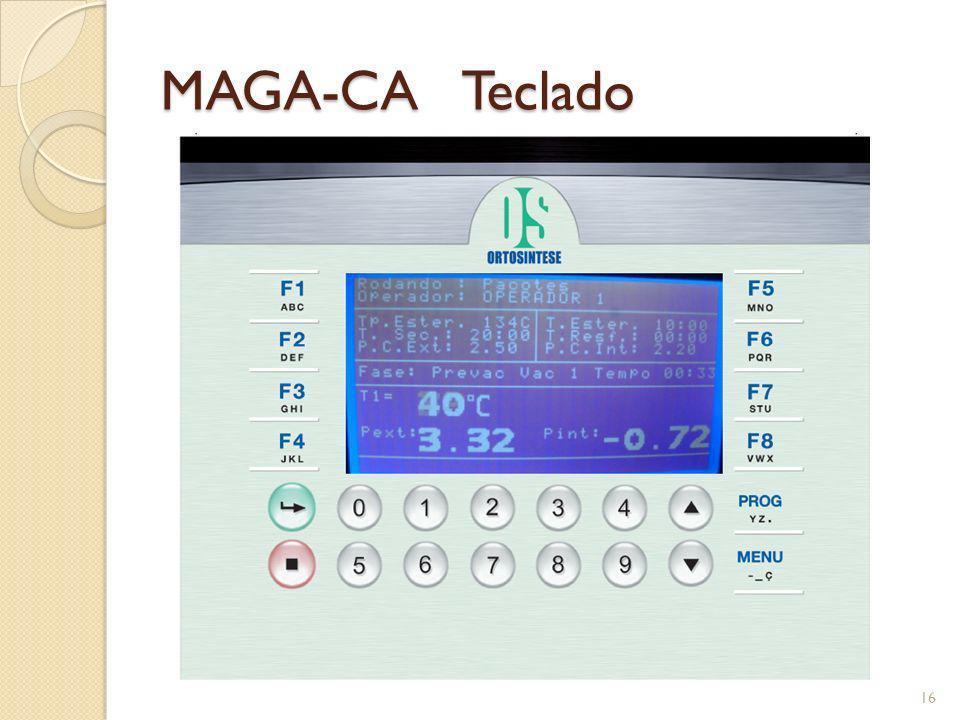 MAGA-CA Teclado