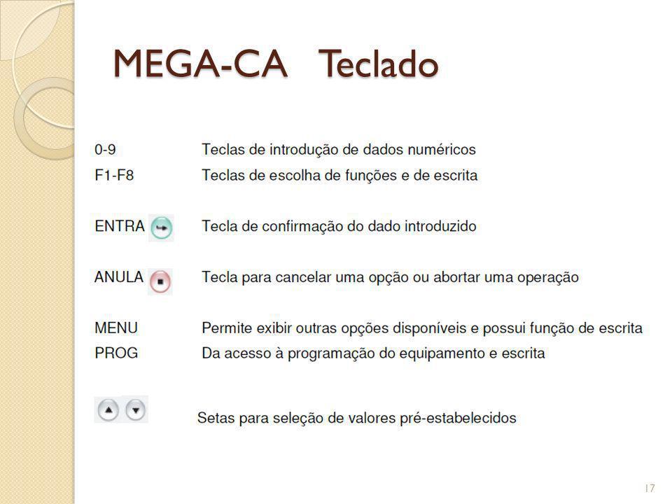 MEGA-CA Teclado