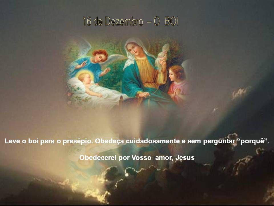Obedecerei por Vosso amor, Jesus
