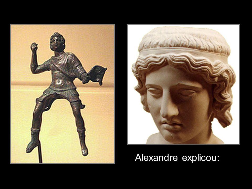 Alexandre explicou: