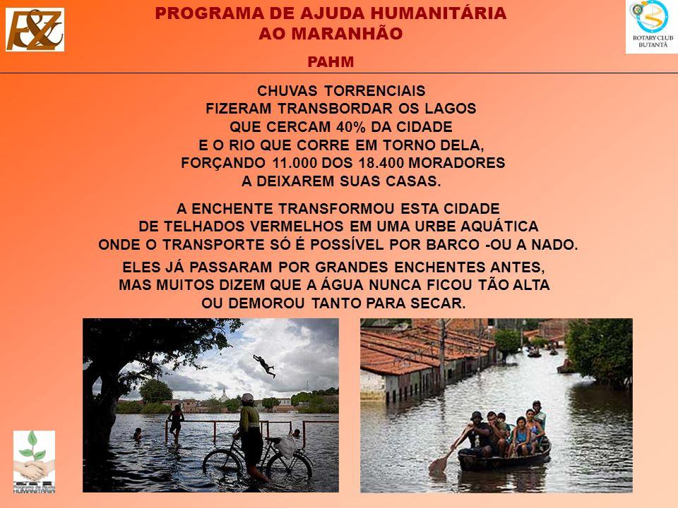 CHUVAS TORRENCIAIS FIZERAM TRANSBORDAR OS LAGOS QUE CERCAM 40% DA CIDADE E O RIO QUE CORRE EM TORNO DELA, FORÇANDO 11.000 DOS 18.400 MORADORES A DEIXAREM SUAS CASAS.
