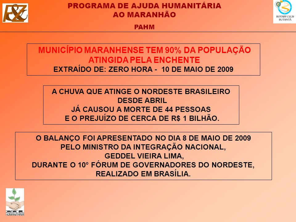 MUNICÍPIO MARANHENSE TEM 90% DA POPULAÇÃO ATINGIDA PELA ENCHENTE
