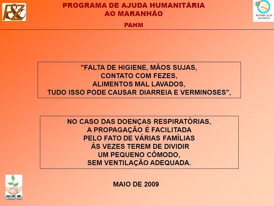 FALTA DE HIGIENE, MÃOS SUJAS, CONTATO COM FEZES, ALIMENTOS MAL LAVADOS, TUDO ISSO PODE CAUSAR DIARREIA E VERMINOSES ,