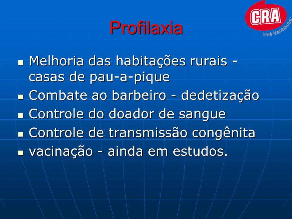 Profilaxia Melhoria das habitações rurais - casas de pau-a-pique