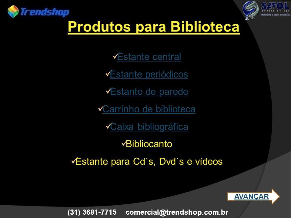 Produtos para Biblioteca