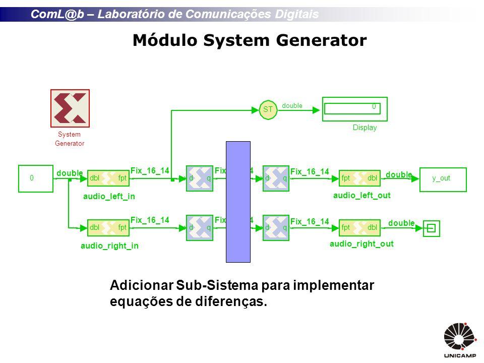 Módulo System Generator
