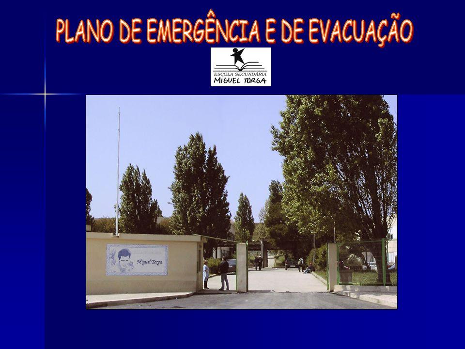 PLANO DE EMERGÊNCIA E DE EVACUAÇÃO