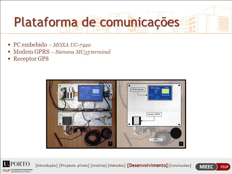 Plataforma de comunicações