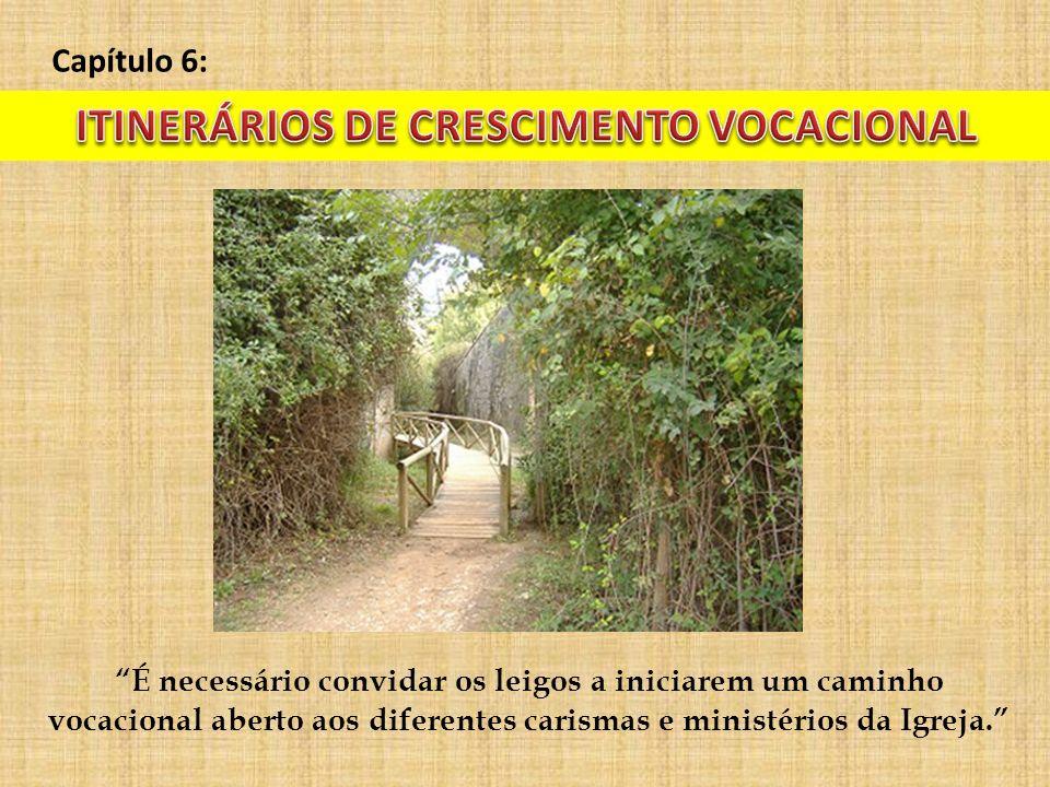 ITINERÁRIOS DE CRESCIMENTO VOCACIONAL