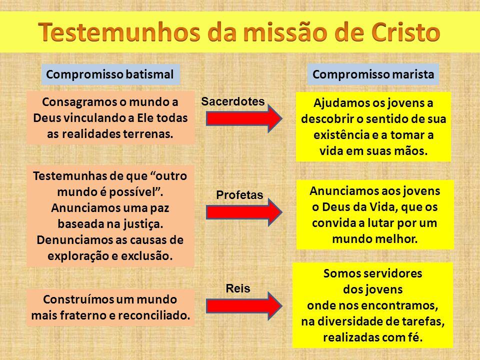 Testemunhos da missão de Cristo