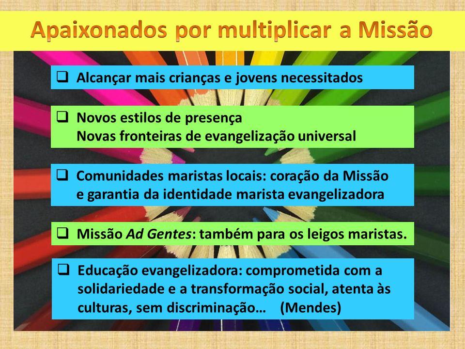 Apaixonados por multiplicar a Missão