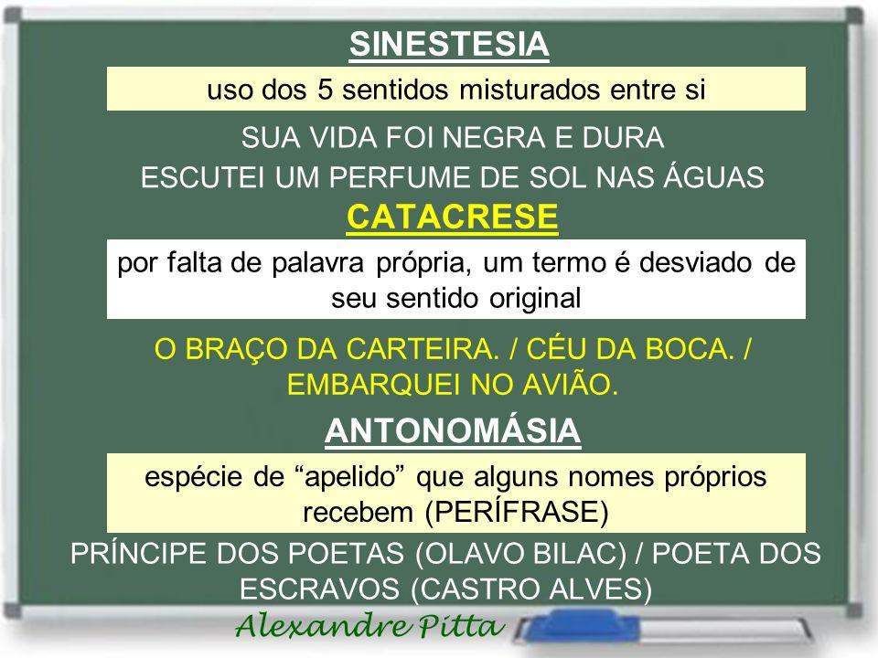 SINESTESIA CATACRESE ANTONOMÁSIA