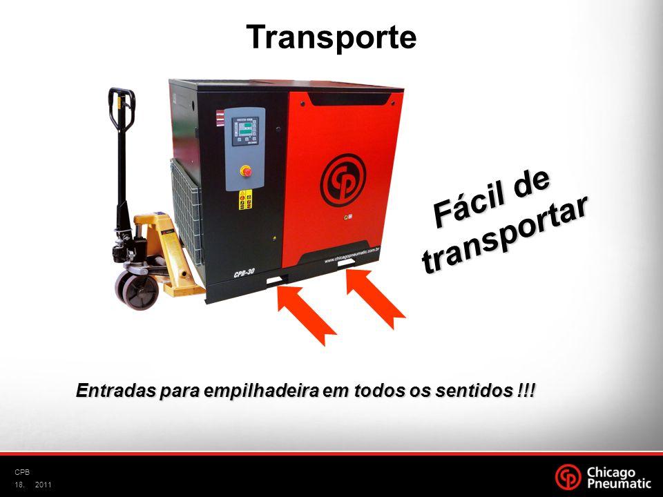 Transporte Fácil de transportar