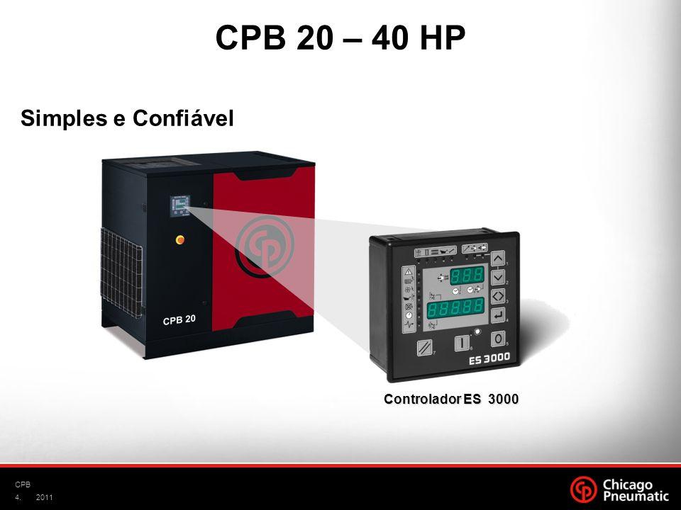 CPB 20 – 40 HP Simples e Confiável Controlador ES 3000 CPB 2011