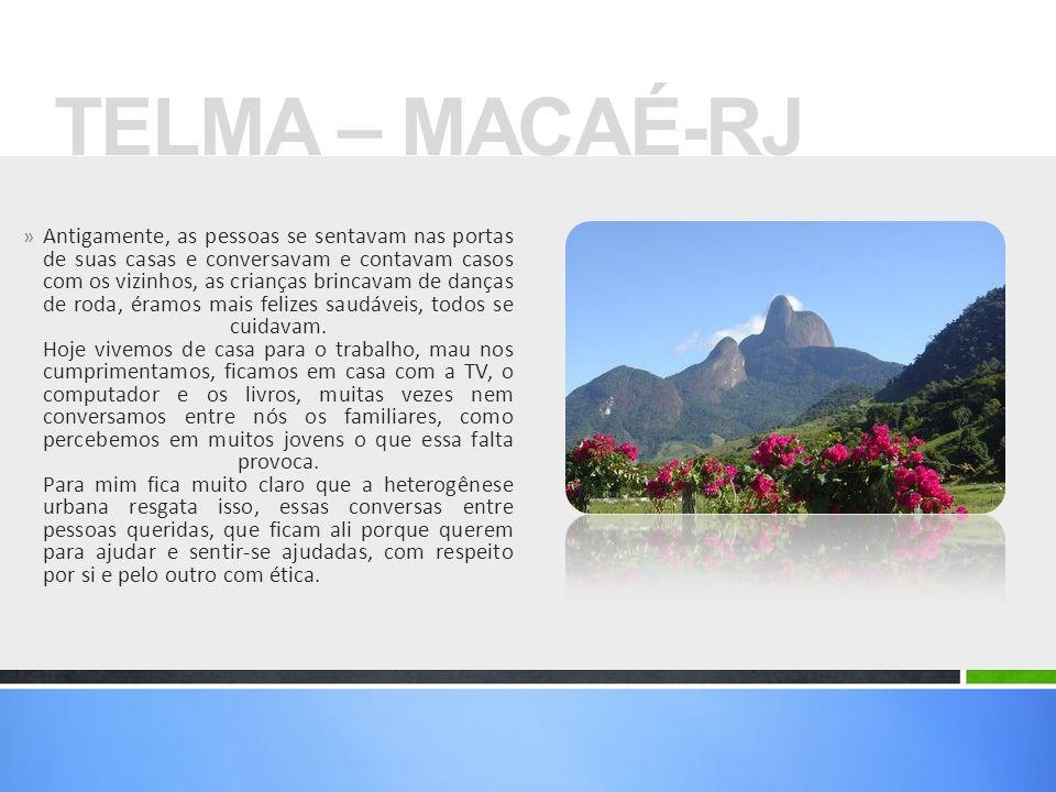TELMA – MACAÉ-RJ