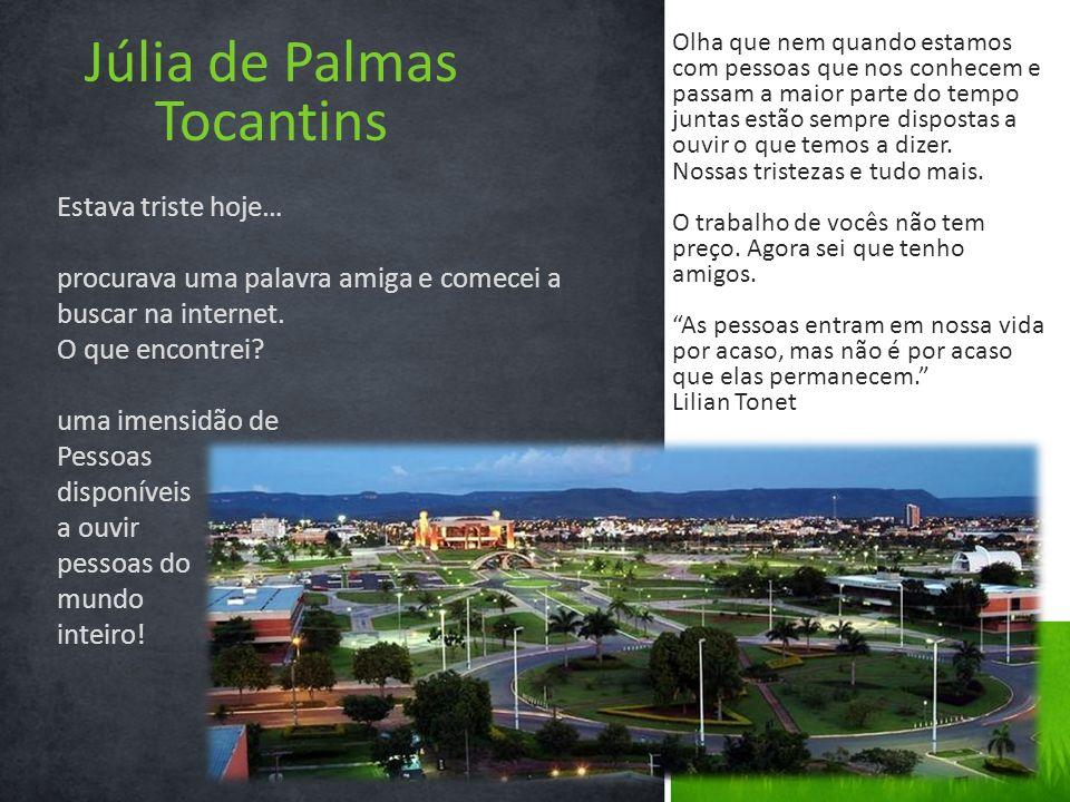 Júlia de Palmas Tocantins