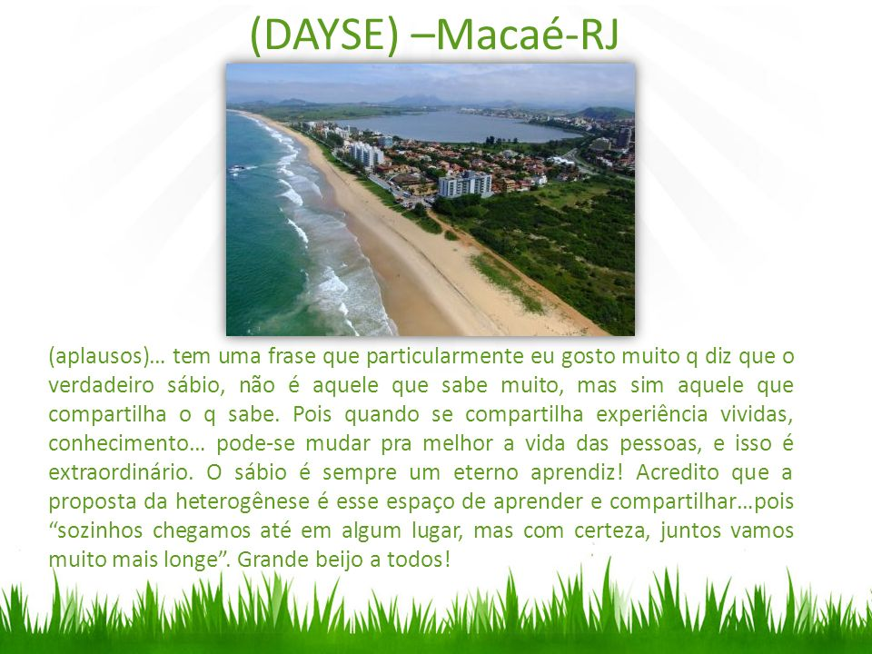 (DAYSE) –Macaé-RJ