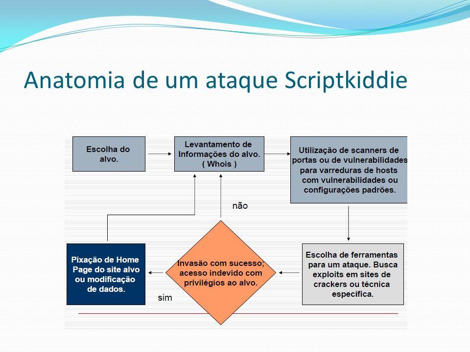Anatomia de um ataque Scriptkiddie