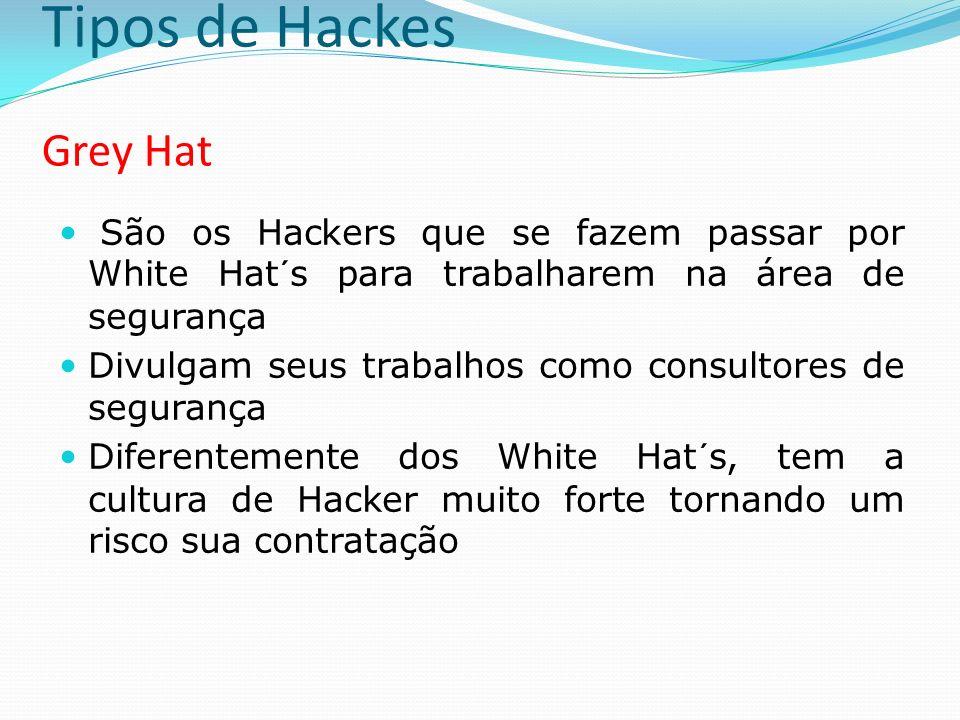 Tipos de Hackes Grey Hat
