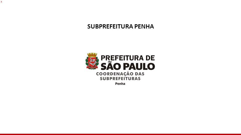 x SUBPREFEITURA PENHA