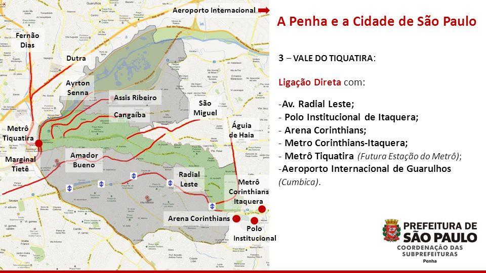 Aeroporto Internacional A Penha e a Cidade de São Paulo