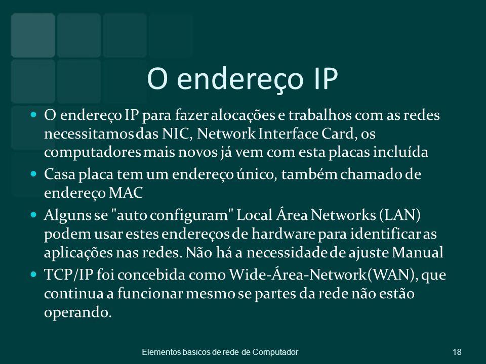 O endereço IP