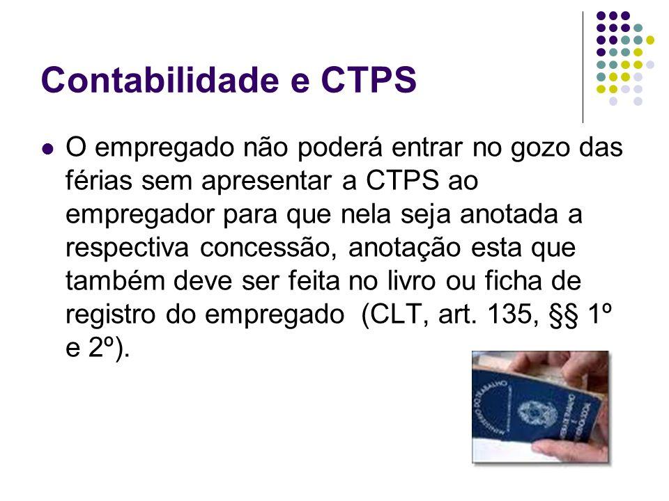 Contabilidade e CTPS
