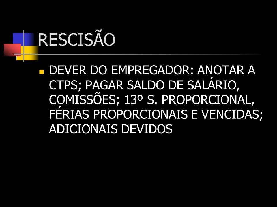 RESCISÃO