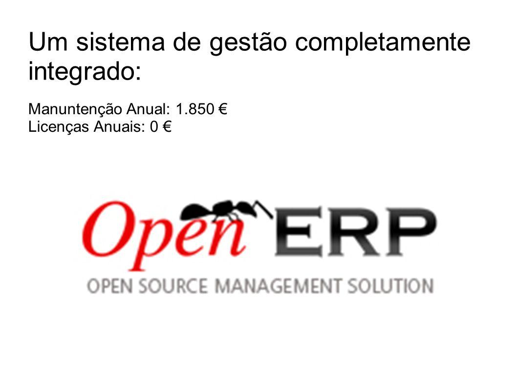 Um sistema de gestão completamente integrado: