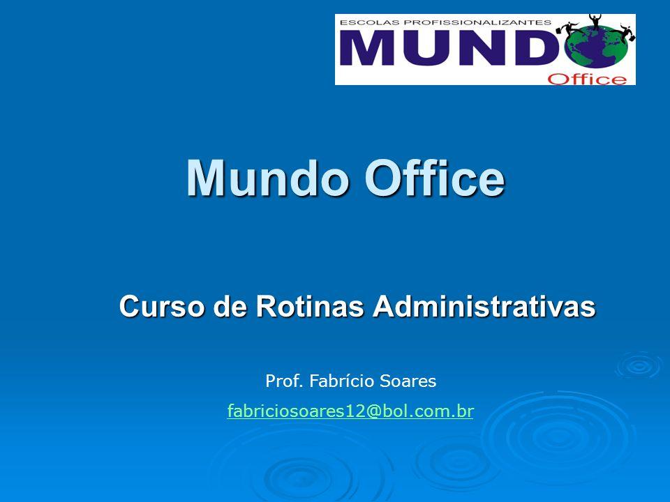 Curso de Rotinas Administrativas