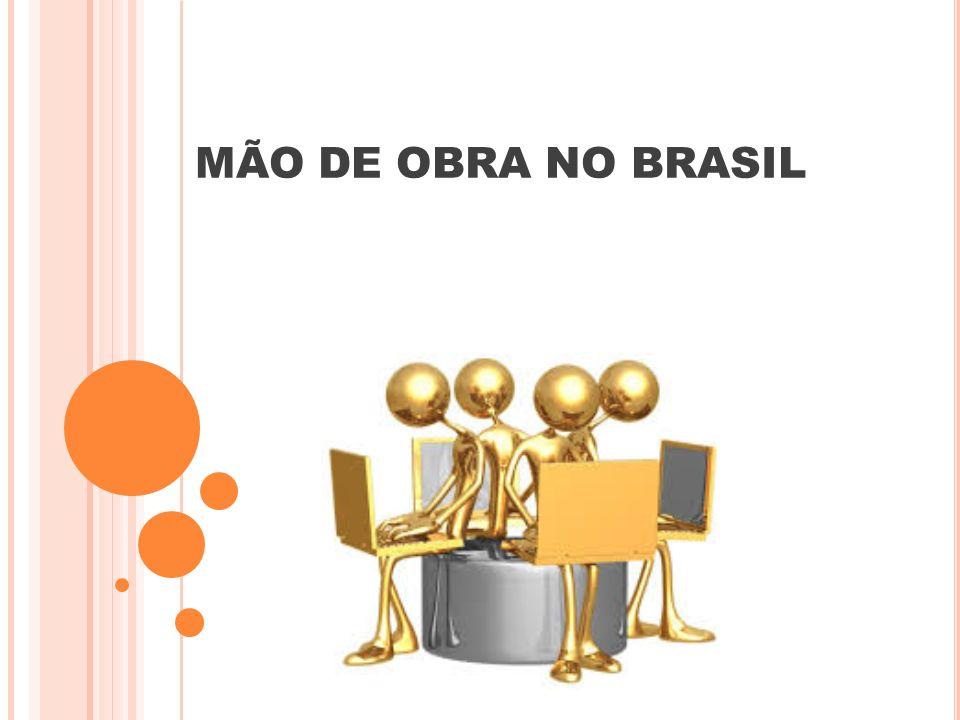MÃO DE OBRA NO BRASIL