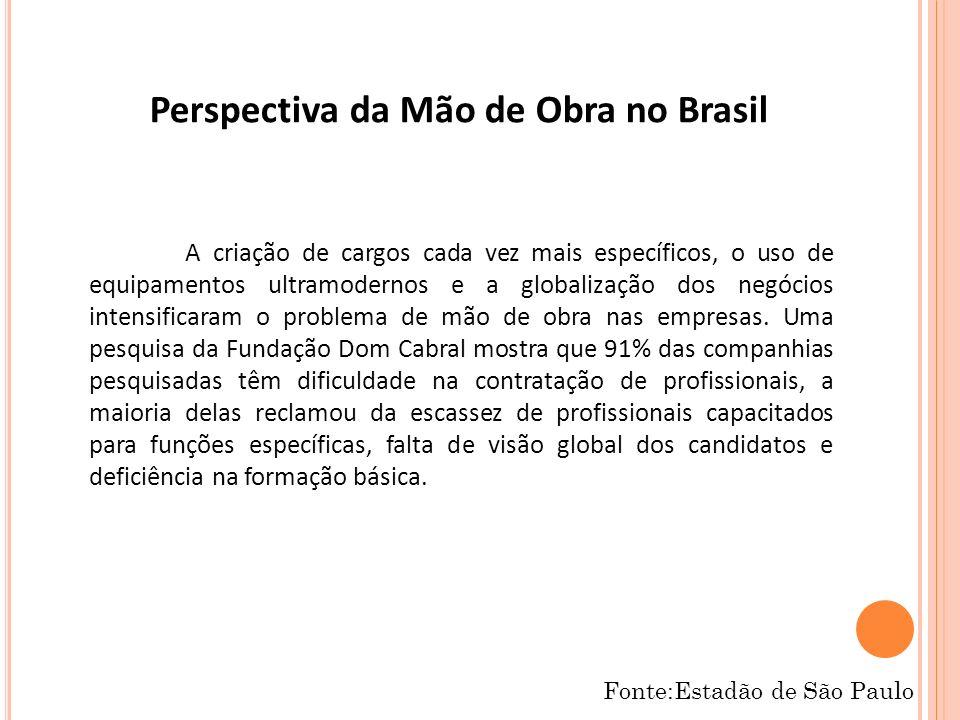 Perspectiva da Mão de Obra no Brasil