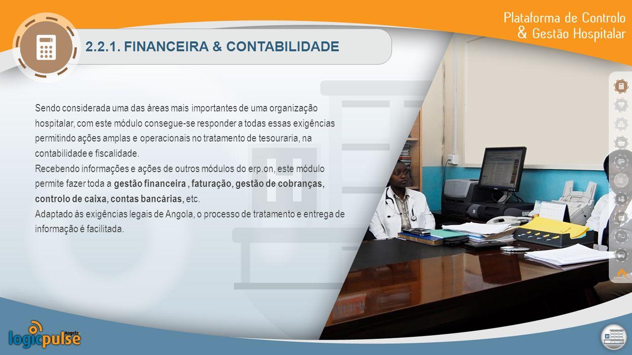 2.2.1. FINANCEIRA & CONTABILIDADE