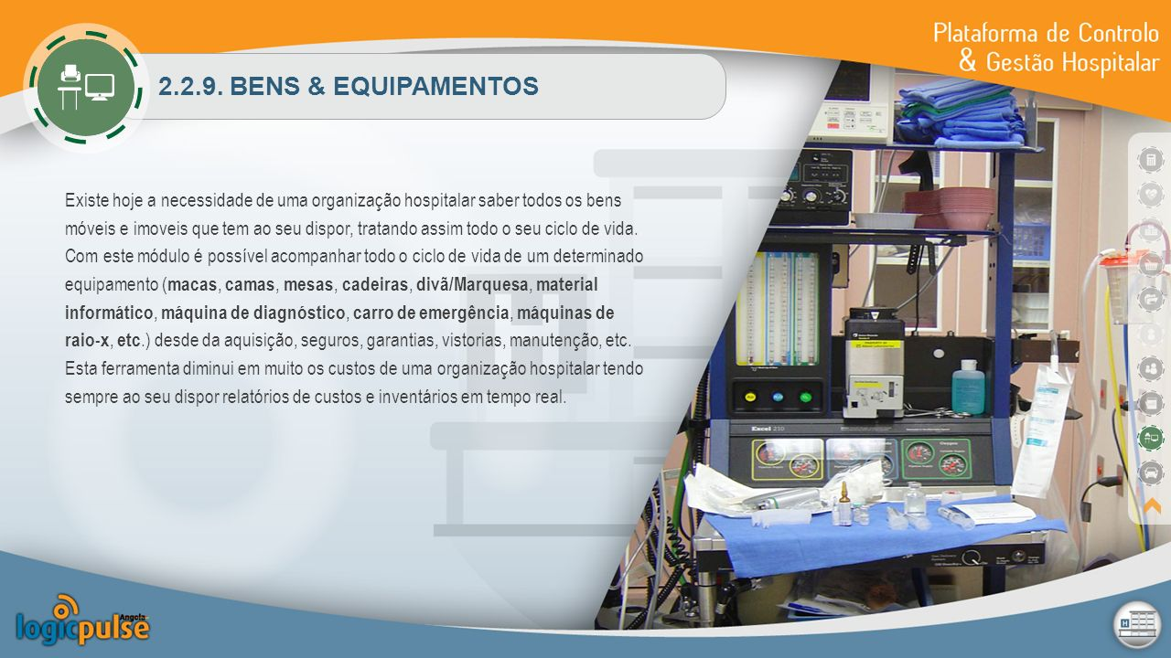 2.2.9. BENS & EQUIPAMENTOS