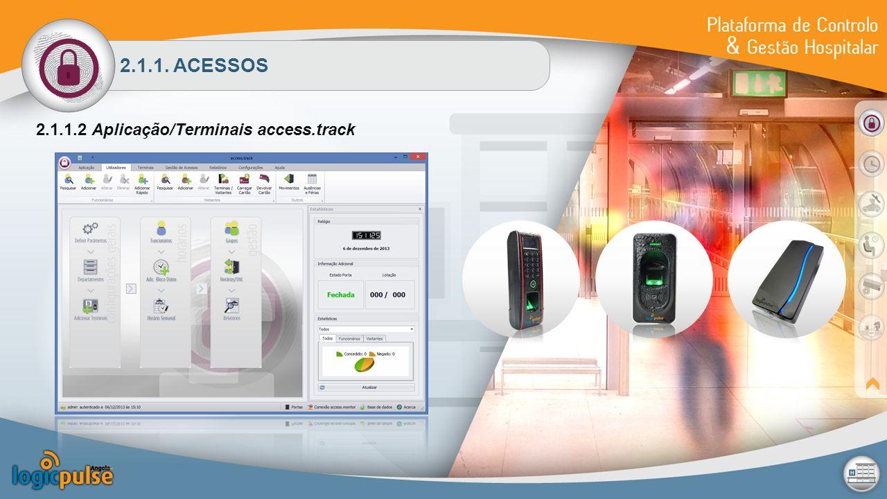 2.1.1. ACESSOS 2.1.1.2 Aplicação/Terminais access.track