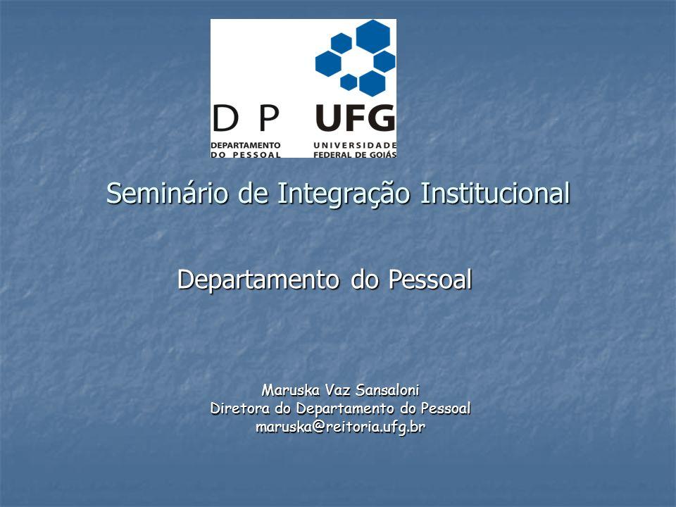 Seminário de Integração Institucional