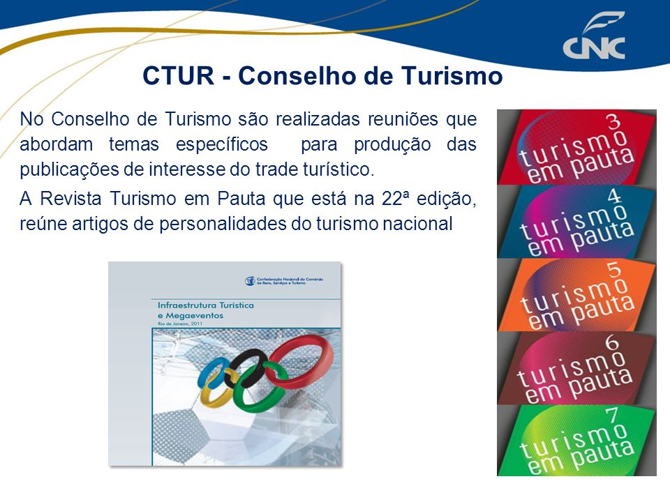 CTUR - Conselho de Turismo