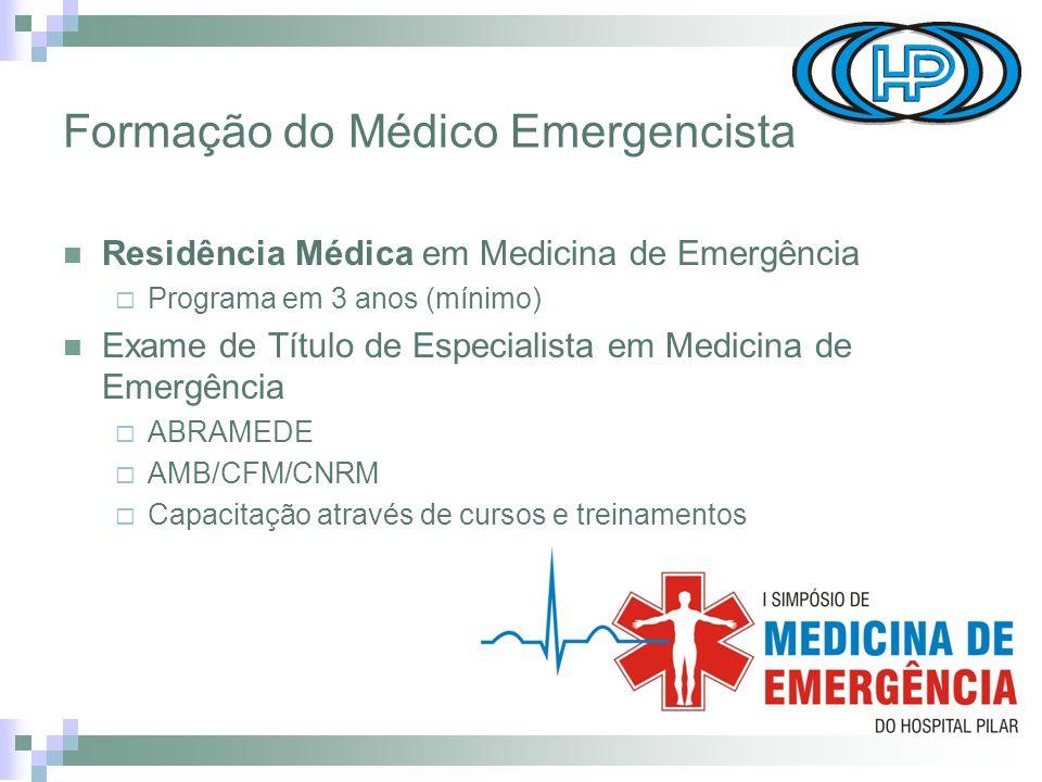 Formação do Médico Emergencista