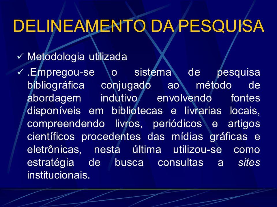 DELINEAMENTO DA PESQUISA